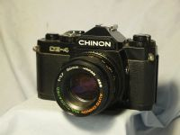 '               CE-4 + 50MM 1.7 ' Chinon CE-4 Pentax K Fit SLR Camera £24.99